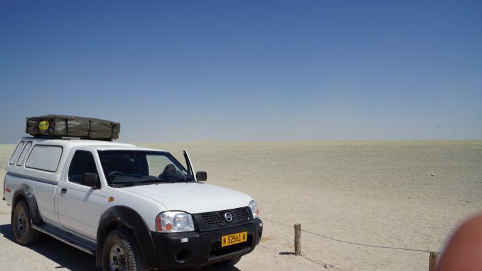 Namibia Etosha National Park Etosha pan
