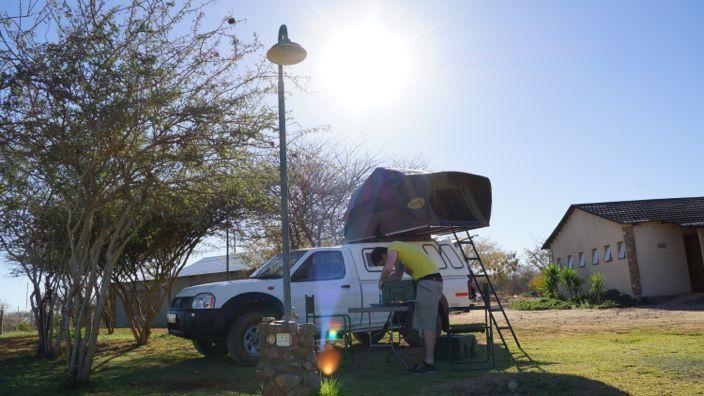 Namibia Camping Car Hire Nissan 4x4