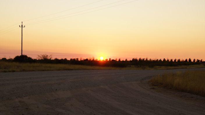 Namibia sunrise