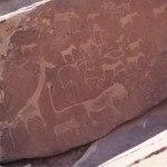 Namibia Twyfelfontein engravings