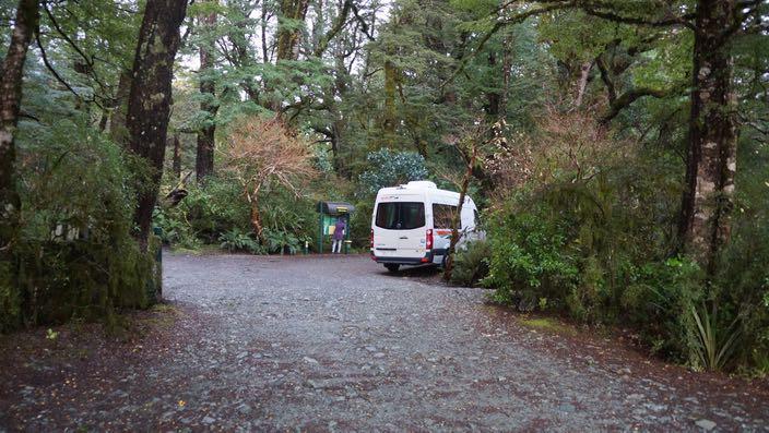 Neuseeland Camping DOC Lake Gunn