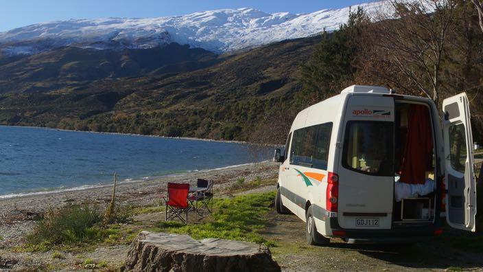 Neuseeland Wild Campen Apollo Campervan