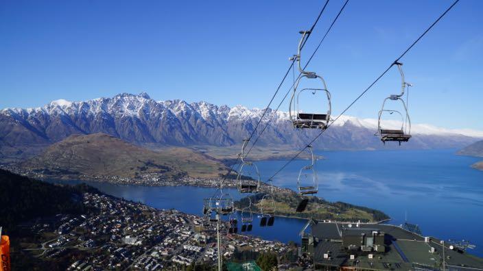 Neuseeland Queenstown Gondola