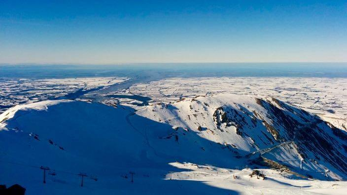 Mount Hutt New Zealand View