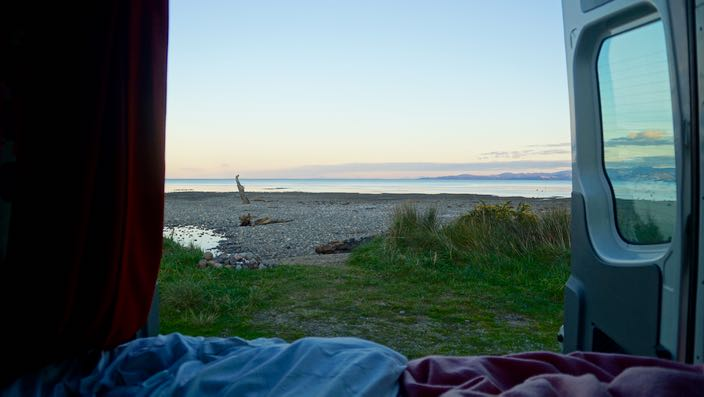 Wild Camping in New Zealand