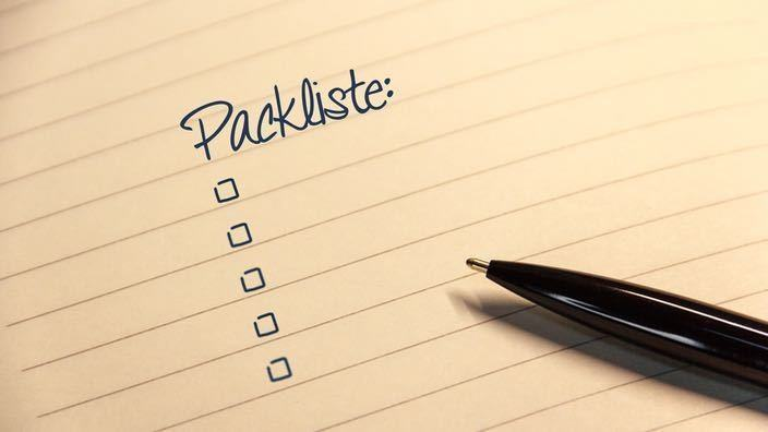 Packliste Weltreise Backpacking