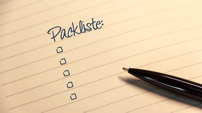 Packliste Weltreise Backpacking