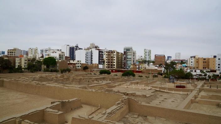 Pyramide in Lima, Peru