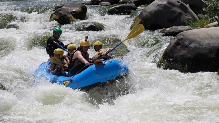 Rafting Cusipata, Arequipa