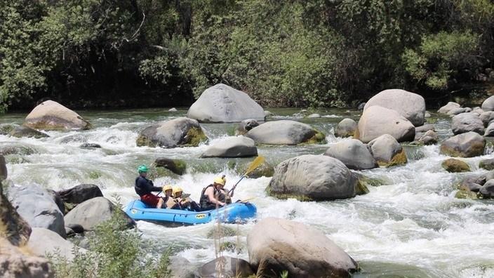 Cusipata Rafting Arequipa, Peru