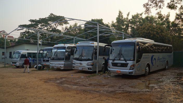 Giant Ibis Bus Siem Reap Cambodia