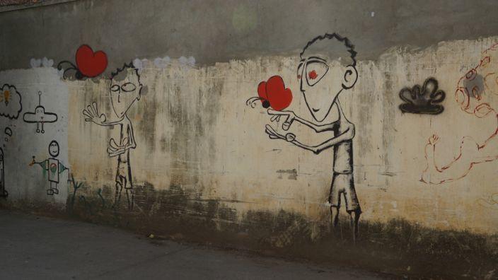 Kambodscha Phnom Penh Street Art