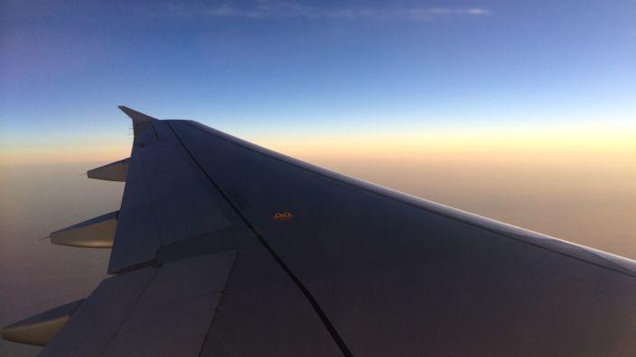 Qatar Air Flight View