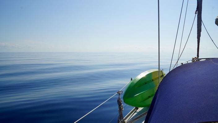 Sailing Koala 1, ruhiges Meer