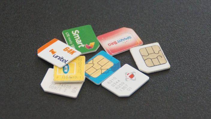 Internet im Ausland - SIM-Karten