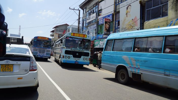 Sri Lanka Busses