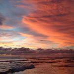 Sri Lanka Sunset Hikkaduwa Narigama Beach