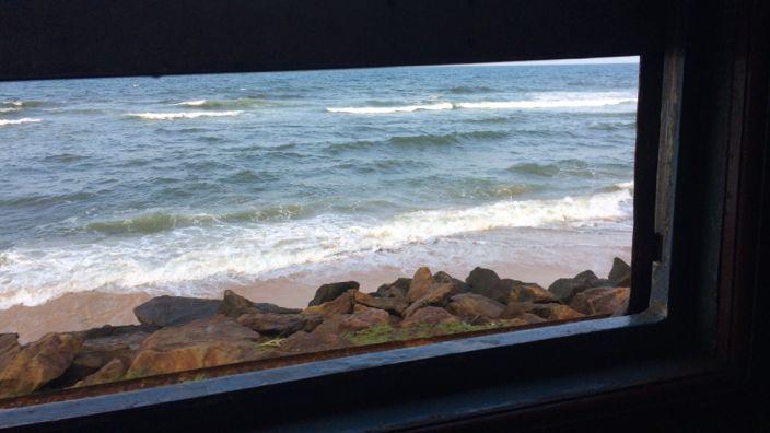 Sri Lanka Train View
