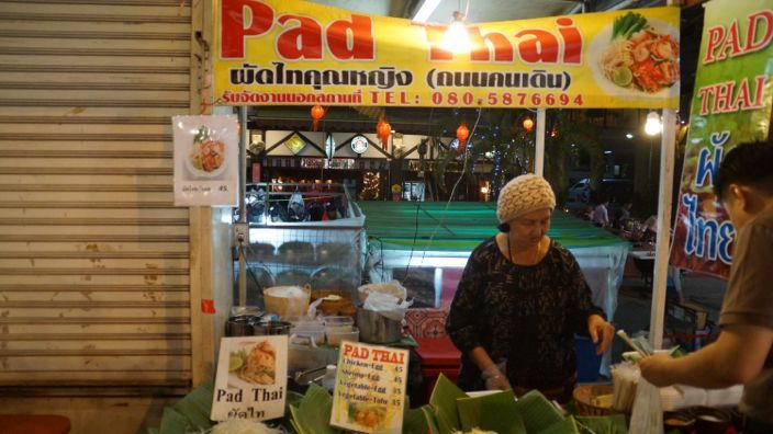 Pad Thai Night Market Chiang Mai